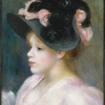 Jeune fille au chapeau (c 1891)