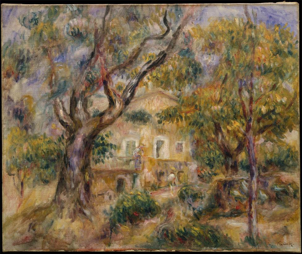 La ferme des Collettes, Cagnes (1908-1914)