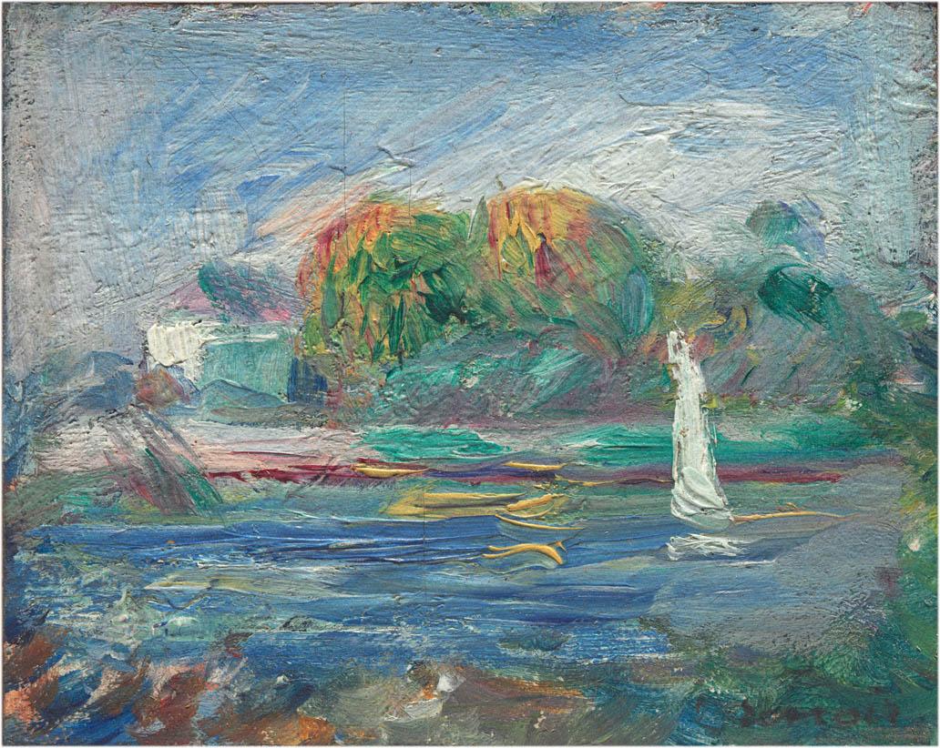 Le bleu rivière (1890-1900)