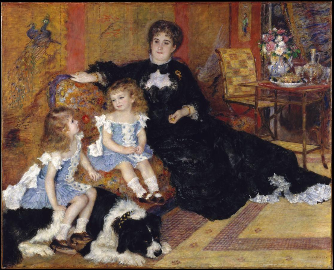 Madame Charpentier et ses enfants (1878)