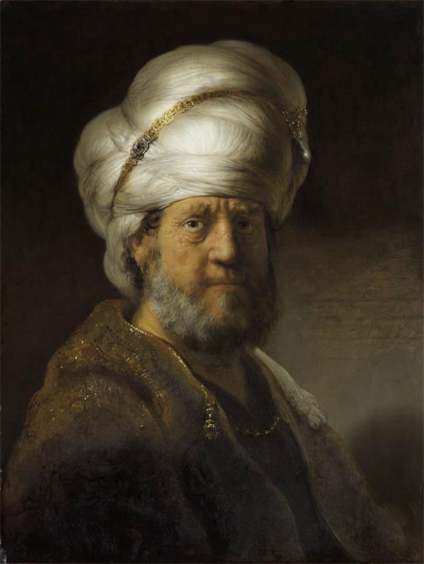 Man in Oriental Dress (1635)