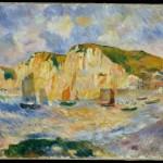 Mer et falaises (c 1885)