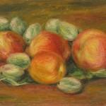 Nature morte aux pommes et aux amandes
