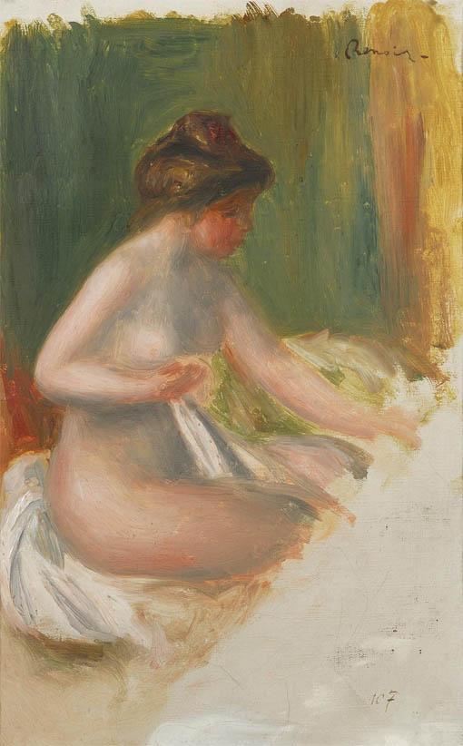 Nu assis (1895)