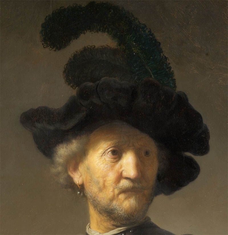 Old Man with a Gold Chain (1631-d-1)