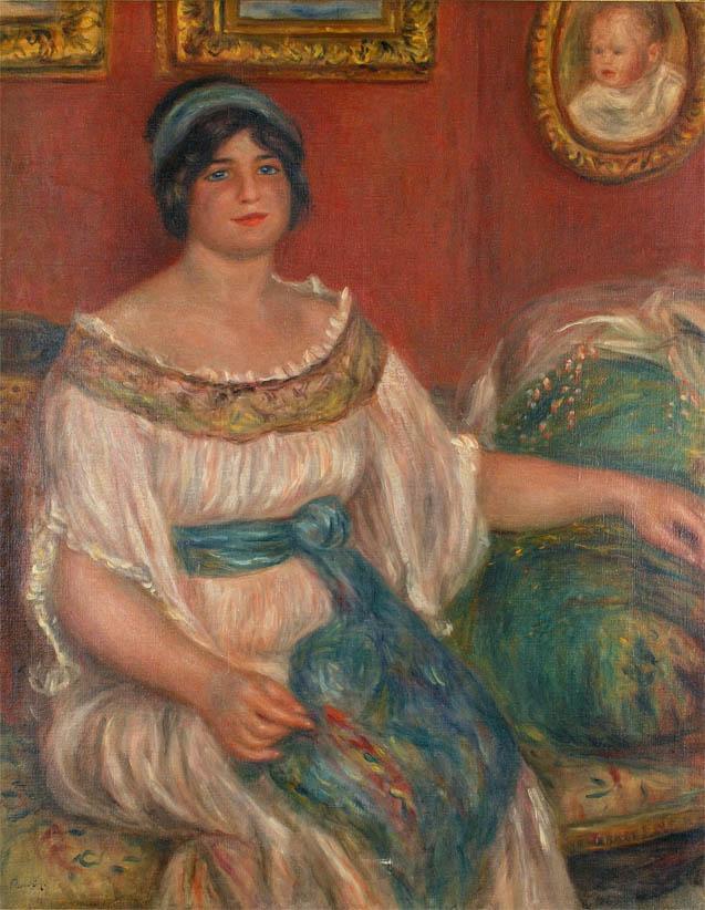 Portrait de Madame Colonna Romano (Renoir)
