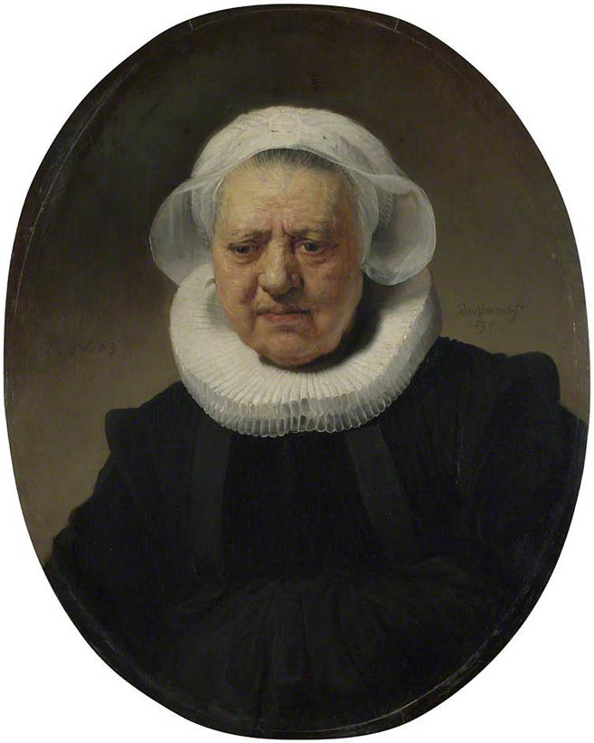 Portrait of Aechje Claesdr (1634)