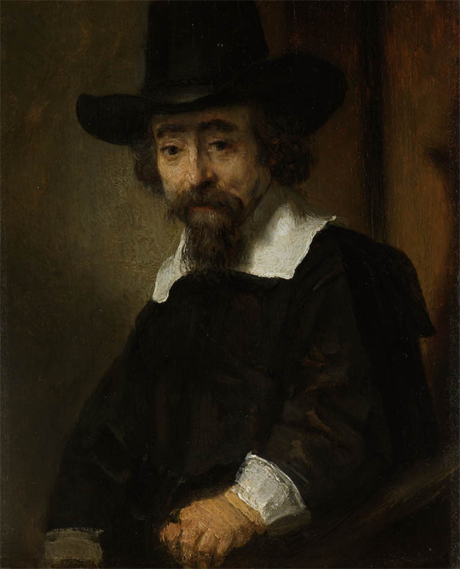 Portrait of Ephraim Bueno (1645-1647)