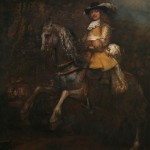 Portrait of Frederick Rihel on Horseback (c 1633)