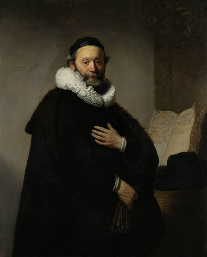 Portrait of Johannes Wtenbogaert (1633)