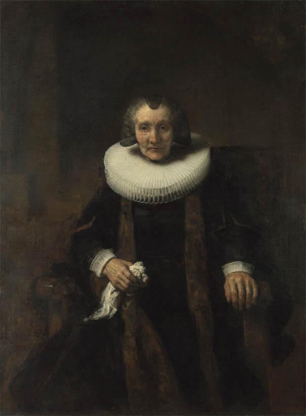 Portrait of Margaretha de Geer, Wife of Jacob Trip (c 1661)