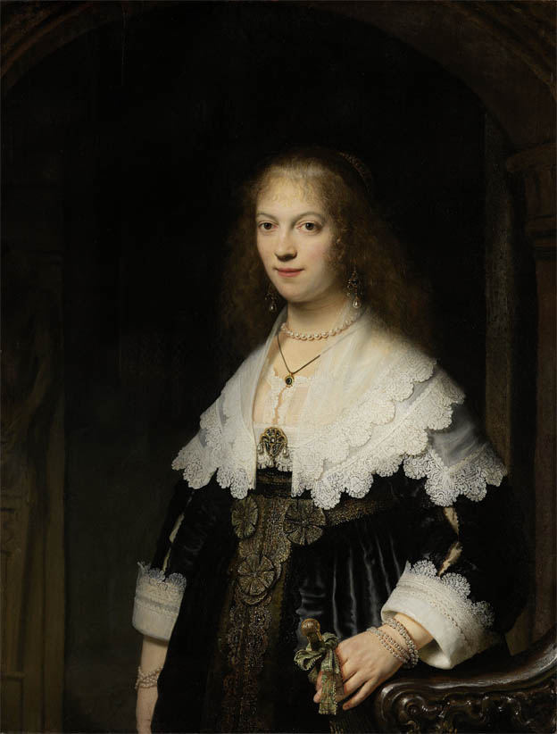 Portrait of Maria Trip (1639)
