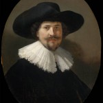 Portrait of a Man Wearing a Black Hat (1634)