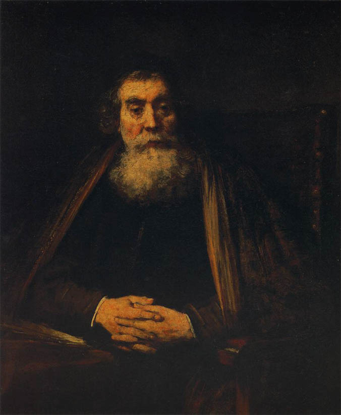 Portrait of an Old Man (1665)