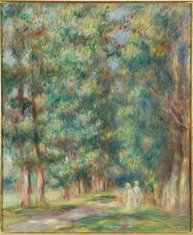 Promenade sous bois (1910)