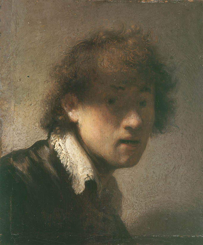 Rembrandt, Self-Portrait (1629-APM)