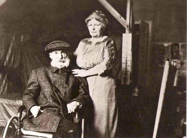 Renoir and Aline