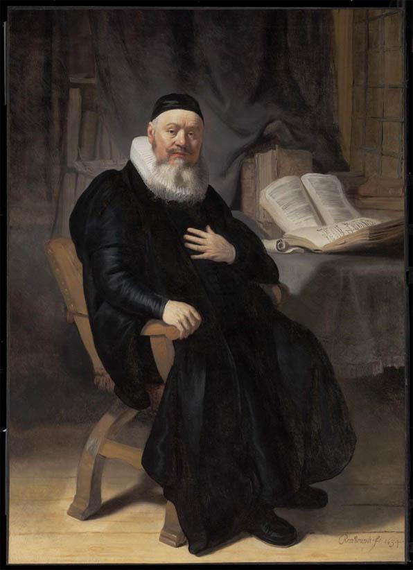 Reverend Johannes Elison (1634)