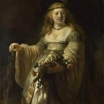 Saskia van Uylenburgh in Arcadian Costume (1635)