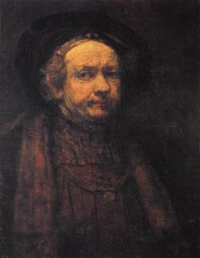 Self-Portrait as an Old Man (c. 1664)
