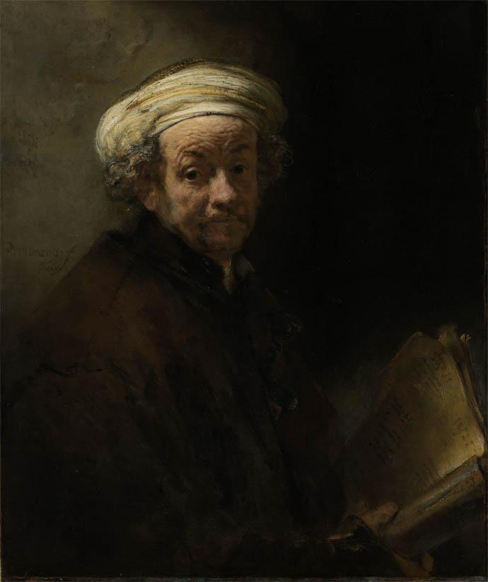 Self Portrait as the Apostle Paul (1661)