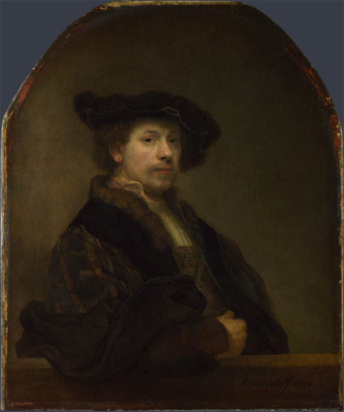 Self Portrait at the Age of 34 (1640)