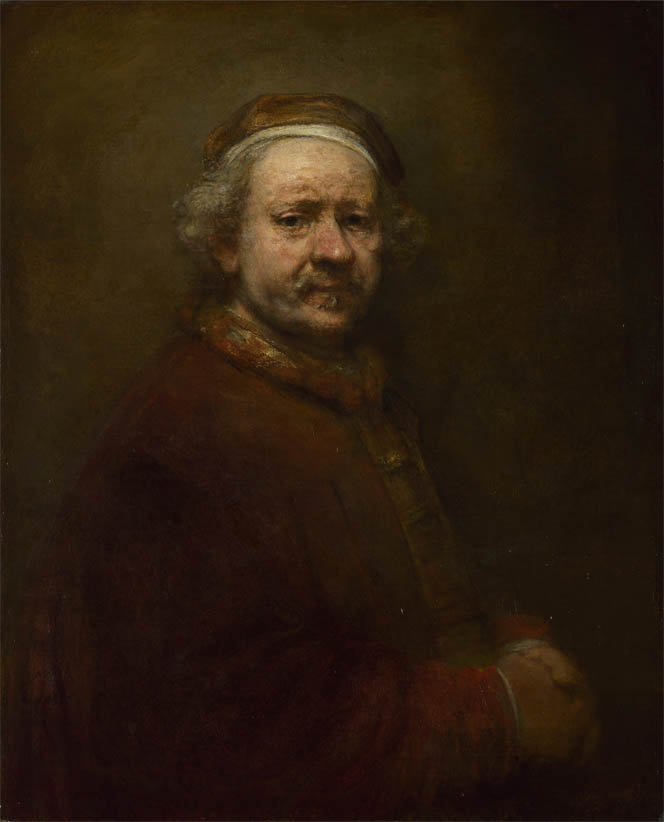 Self Portrait at the Age of 63 (1669)