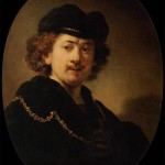 Self-portrait with Beret and Gold Chain (1633)