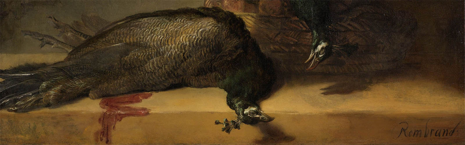 Still Life with Peacocks (c 1639-d-3)