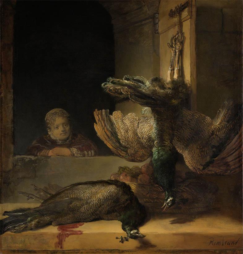 Still Life with Peacocks (c 1639)