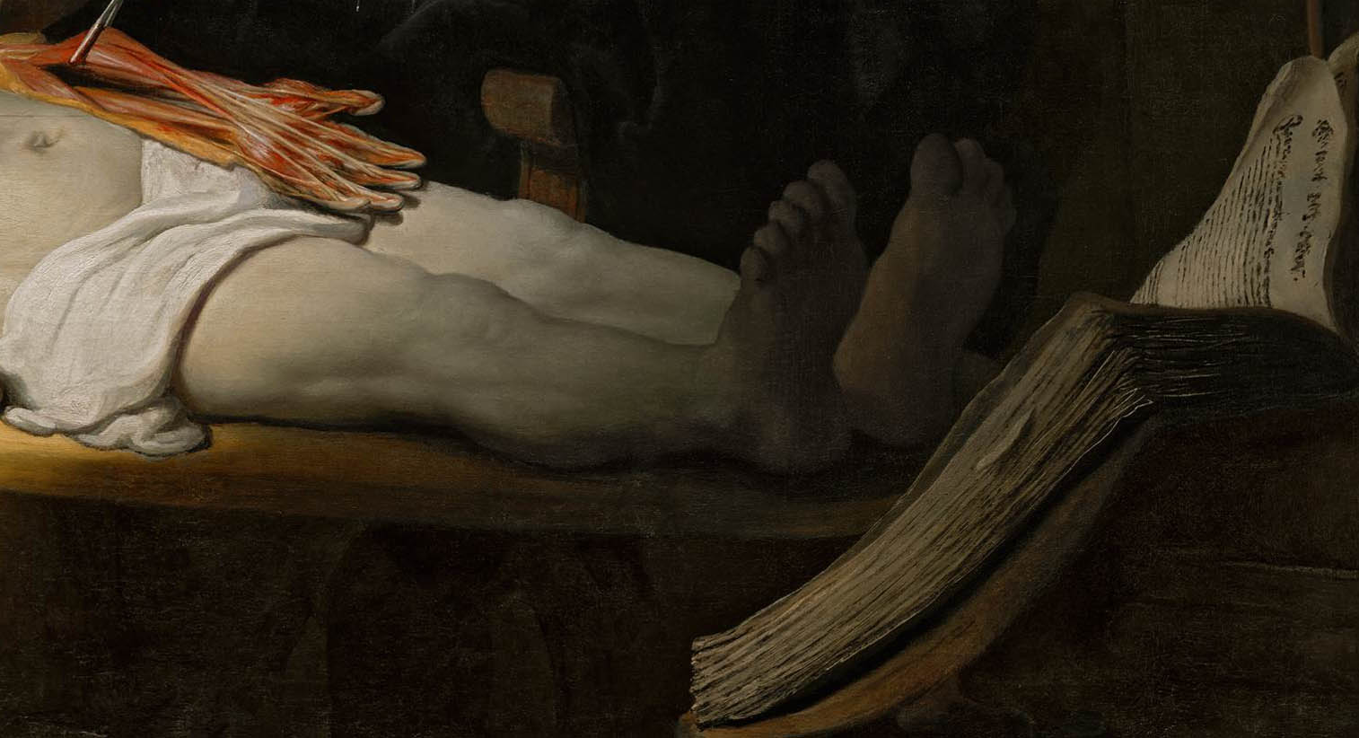 The Anatomy Lesson of Dr Nicolaes Tulp (1632) – The Ark of Grace
