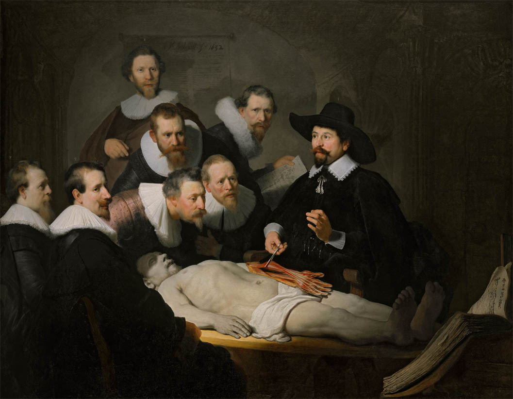 The Anatomy Lesson of Dr Nicolaes Tulp (1632)
