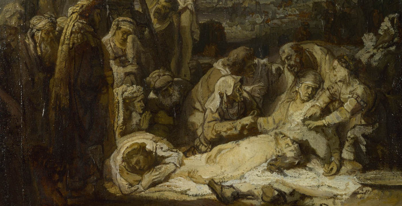 The Lamentation over the Dead Christ (c 1635-d-3)