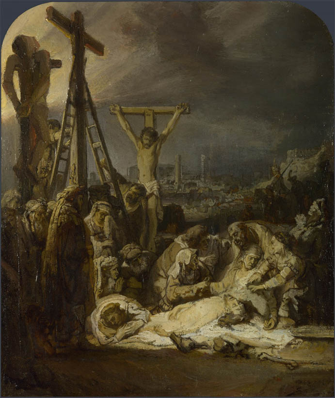 The Lamentation over the Dead Christ (c 1635)