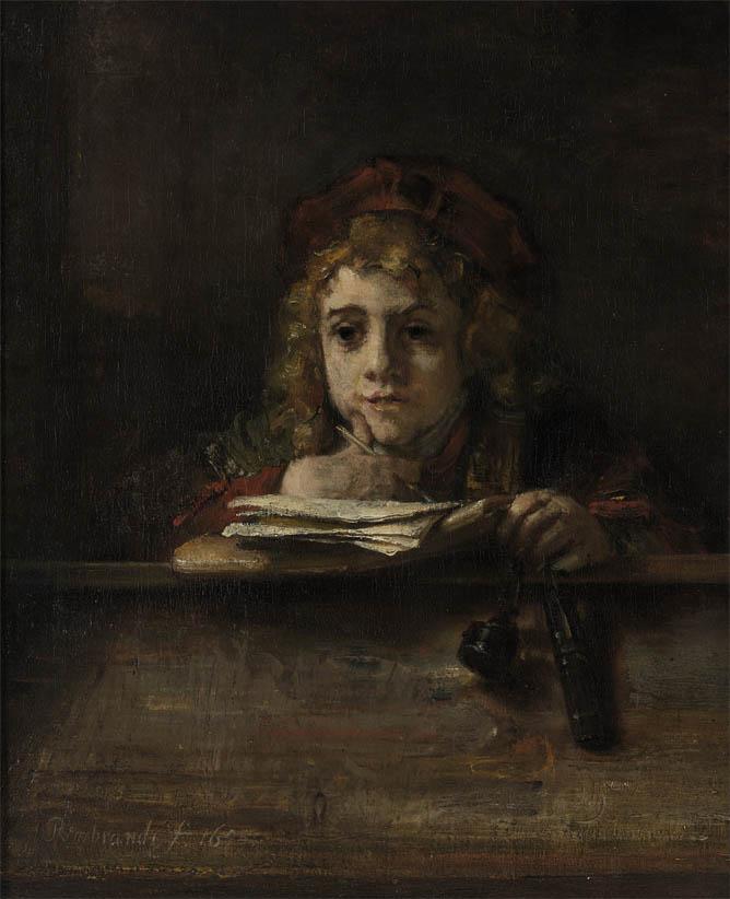 Titus at His Desk (1655)