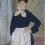 Une serveuse au restaurant Duval (c 1875)