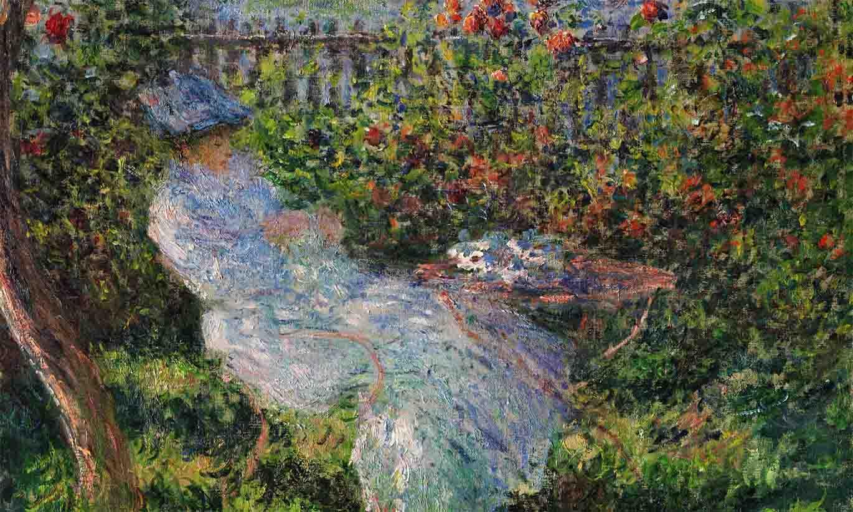 Alice Hoschedé au jardin (1881)