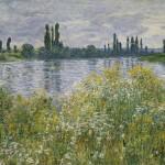 Au bord de la Seine, près de Vétheuil (1880)