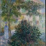 Camille dans le jardin de la maison d'Argenteuil (1876)