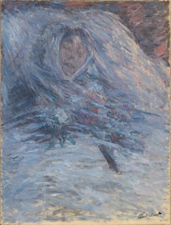 Camille sur son lit de mort (1879