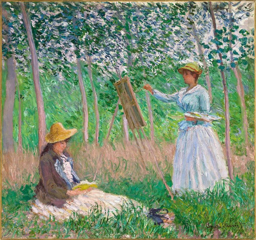 Dans les bois de Giverny (1887)
