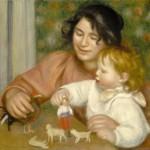 Enfant aux jouets, Gabrielle et Jean (1895-1896)