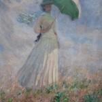 Femme à l'ombrelle tournée vers la droite (1886)