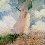 Femme à l'ombrelle tournée vers la gauche (1886)