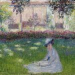 Femme assise dans le jardin (1876)
