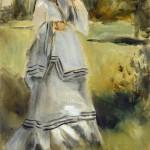 Femme dans un parc (1866)