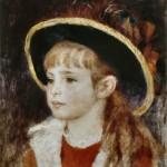 Fillette au chapeau bleu (1881)
