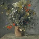 Fleurs dans un vase (c 1866)