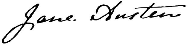 Jane Austen-signature