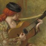 Jeune femme espagnole avec guitare (1898)